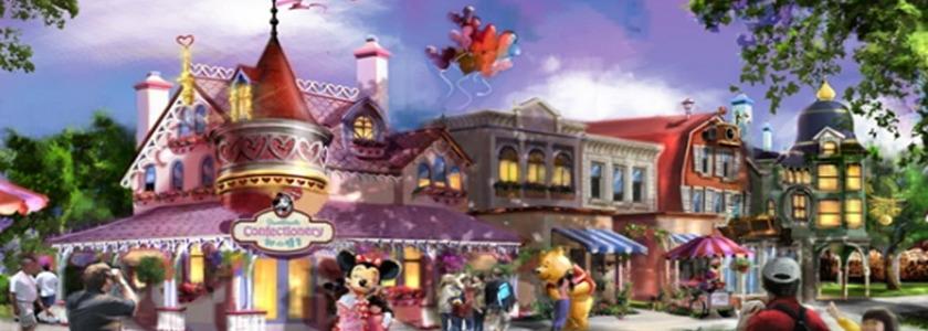 上海迪士尼乐园游乐/演出/美食一览表