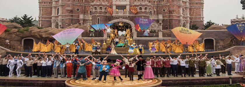 上海迪士尼度假区盛大开幕!